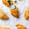 Spinach and Paneer Pasty