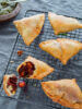 Flaky Beetroot and Potato Samosa